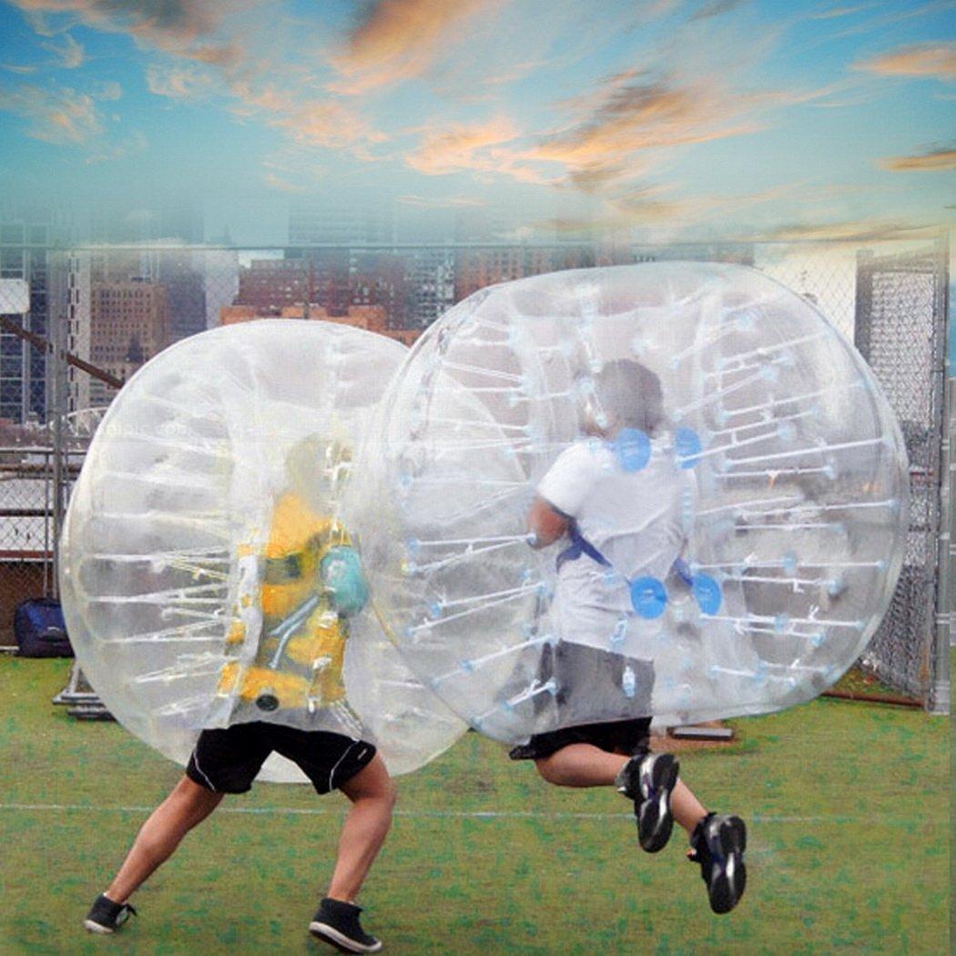 asatr PVC transparente 1,5 m diámetro Pelota hinchable de ...
