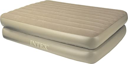 Intex Comfort Bed - Rising Comfort Queen Airbed with Remote Control
