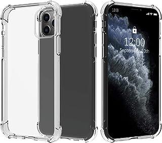 Migeec Funda para iPhone 11 Pro MAX Suave TPU Gel Carcasa Anti-Choques Anti-Arañazos Protección a Bordes y Cámara Premiun ...