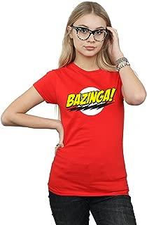 The Big Bang Theory Women's Sheldon Bazinga T-Shirt