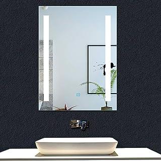 AICA SANITARIOS Espejo de baño 45x60 cm Espejo led -