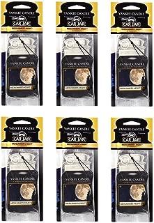 Yankee Candle MidSummer's Night Paper Car Jar Hanging Air Freshener (Pack of 6)