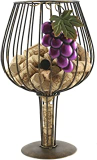 Big Wine Glass Cork Holder for Wine Lovers By Thirteen Chefs