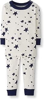 Baby/Toddler 2-Piece Organic Cotton Long Sleeve Star Print Pajama Set