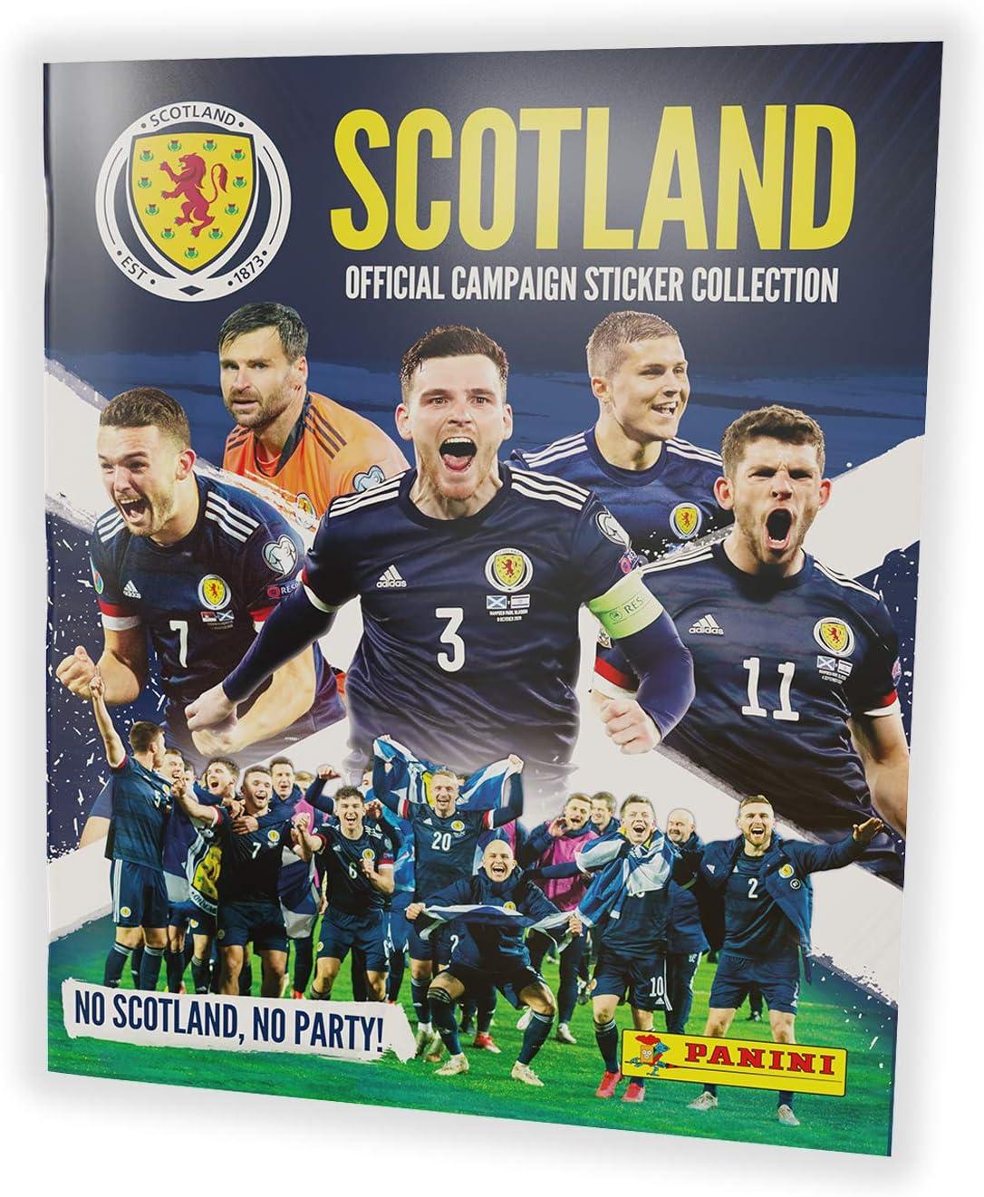 x50 Packs Panini Scotland 2021 Sticker Collection