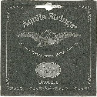 Aquila 104U - Juego de cuerdas para ukelele de concierto en Sol (grave), Do, Mi, La