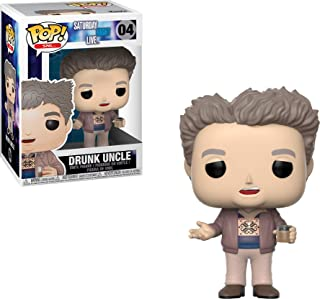 Funko Pop Television: SNL, Saturday Night Live- Drunk Uncle Collectible Figure, Multicolor