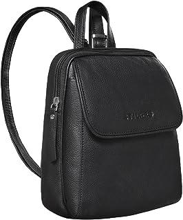 STILORD 'Valentina' Vintage Damenrucksack Klein Leder Daypack Rucksack für Frauen Rucksackhandtasche für City Ausgehen Sho...