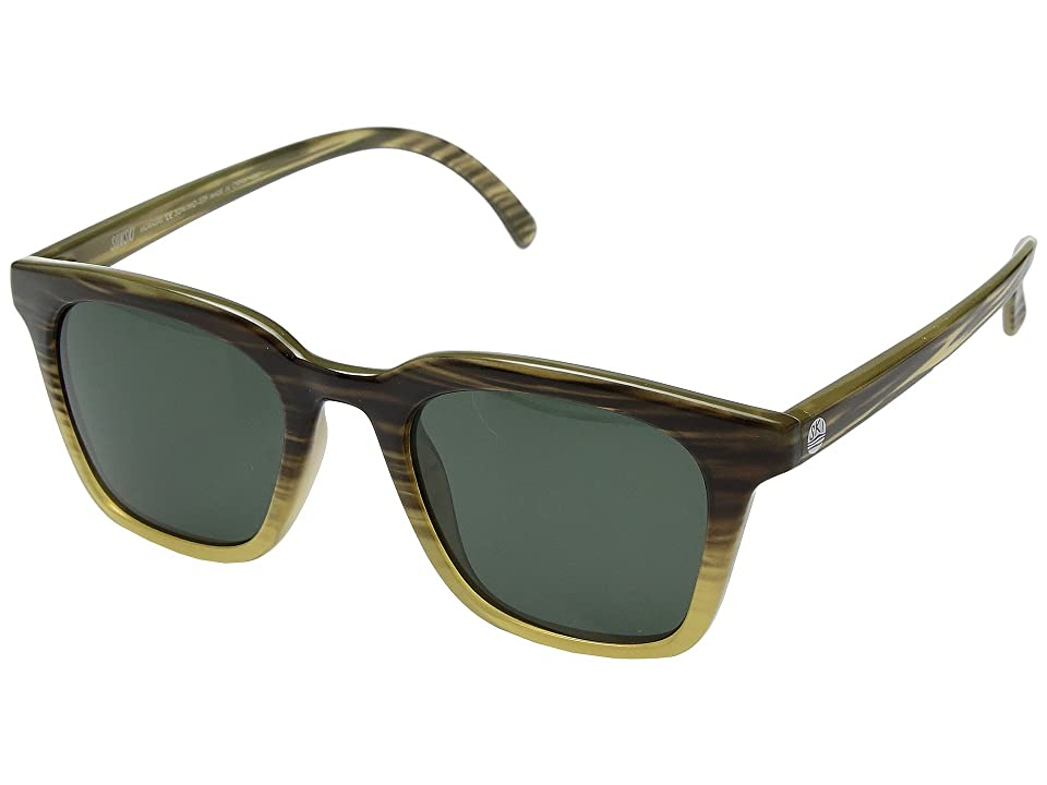 Sunski Moraga (Stripe Tortoise/Forest) Sport Sunglasses