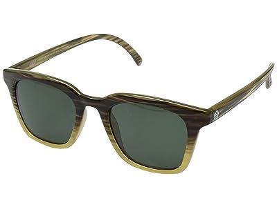 Sunski Moragas Lifestyle Collection (Stripe Tortoise/Forest) Sport Sunglasses