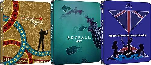 License Triple Agent 3 Film 007 Collection Steelbook Daniel Craig James Bond Skyfall & Casino Royale + On Her Majesties Se...