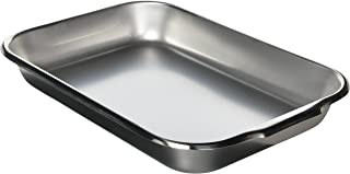 Vollrath 61230 3.5-Quart Bake Roast Pan, 14-7/8 x 10-1/4 x 2-inch, Stainless Steel, NSF
