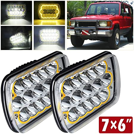 Light & Lighting Accessories CO LIGHT Pair 7x6 5x7inchs LED ...