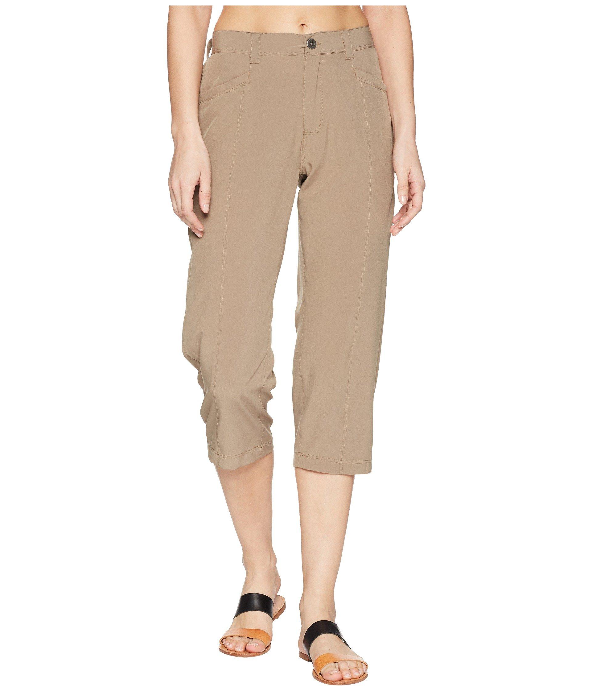 Pantalón para Mujer White Sierra Mt. Tamalpais Stretch Capris  + White Sierra en VeoyCompro.net