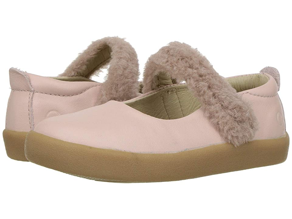 Old Soles Fur Jane (Toddler/Little Kid) (Powder Pink/Dusty Pink) Girl