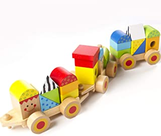 Fat Brain Toys Stacking Train - Learning Locomotive