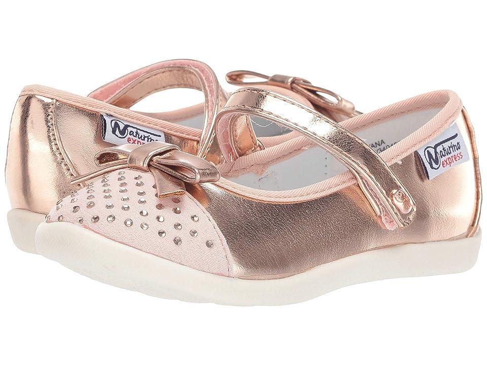 Naturino Express Silvana (Toddler/Little Kid) (Rose Gold 1) Girls Shoes