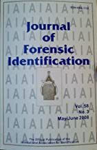 A Digital System for Imaging Bitter Patterns / The Future of DNA Evidence / New Method for Examining the Inside of Footwear / Recording a Known Tire Impression From a Suspect Vehicle (Journal of Forensic Identification, Volume 58, Number 3, May/June 2008)