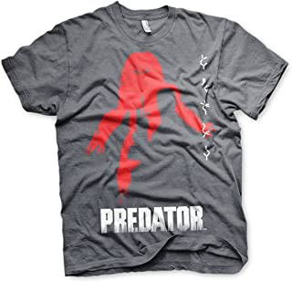 The Predator Officially Licensed Poster Mens T-Shirt (Dark-Heather)