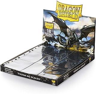 Arcane Tinman AT-10301 Portfolio: Dragon Shield 18-Pocket Collectors Black (50)