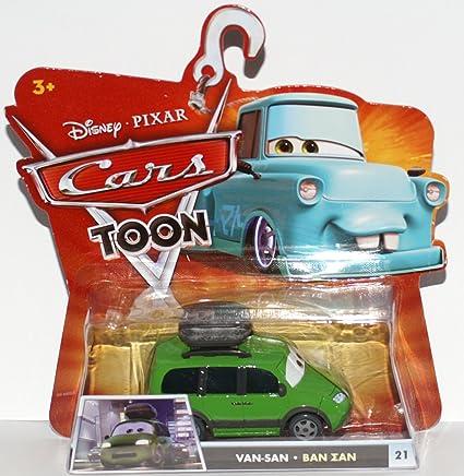 Disney / Pixar CARS TOON 155 Die Cast Car Van San
