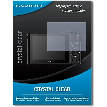 Swido Displayschutzfolie Für Sony Cybershot Dsc Hx90 Kamera