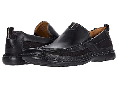 Clarks Lambeth (Black Leather) Men