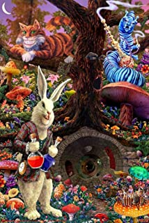 Down the Rabbit Hole - Alice in Wonderland Poster 24 x 36in