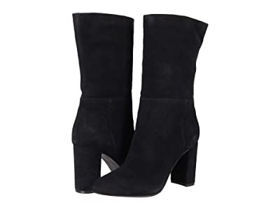 Chinese Laundry Keep Up (Black Split Suede) High Heels