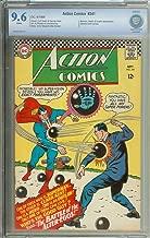 ACTION COMICS #341 CBCS 9.6 WHITE PAGES