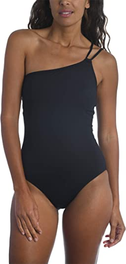 Island Goddess One Shoulder Mio One-Piece Swimsuit