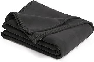 Vellux Original Blanket, King 108 x 90, Asphalt