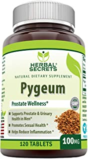 Herbal Secrets pygeum 100 mg 120 Tablets