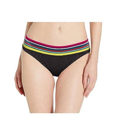 Trina Turk Zebra Basic Hipster Bottoms (Black) Women