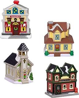 Cobblestone Corners Miniature Christmas Village - Resin Accessories (Village Buildings)
