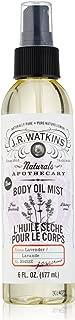 J R Watkins Lavender Body Oil Mist, 6 Fluid Ounce - 1 Each.