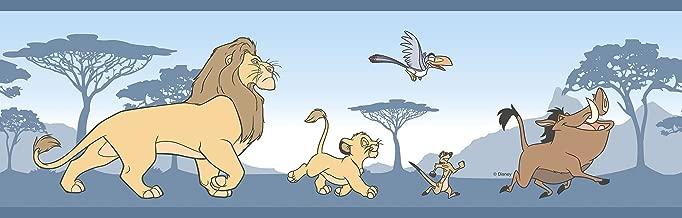 RL3522-1 - Magical Kingdom Blue The Lion King Simba Galerie Wallpaper Border