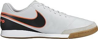 Men's Tiempo Genio Ii Leather Ic Indoor Football Soccer Boots- Black/Tur.