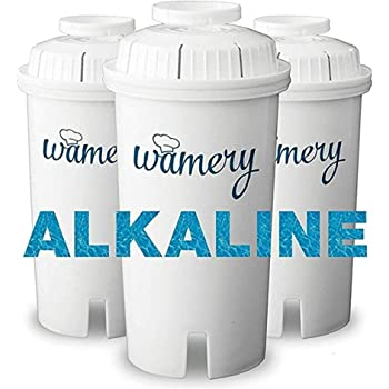 Wamery Reemplazo del Filtro de Agua 3-Pack. Se Adapta a jarras ...