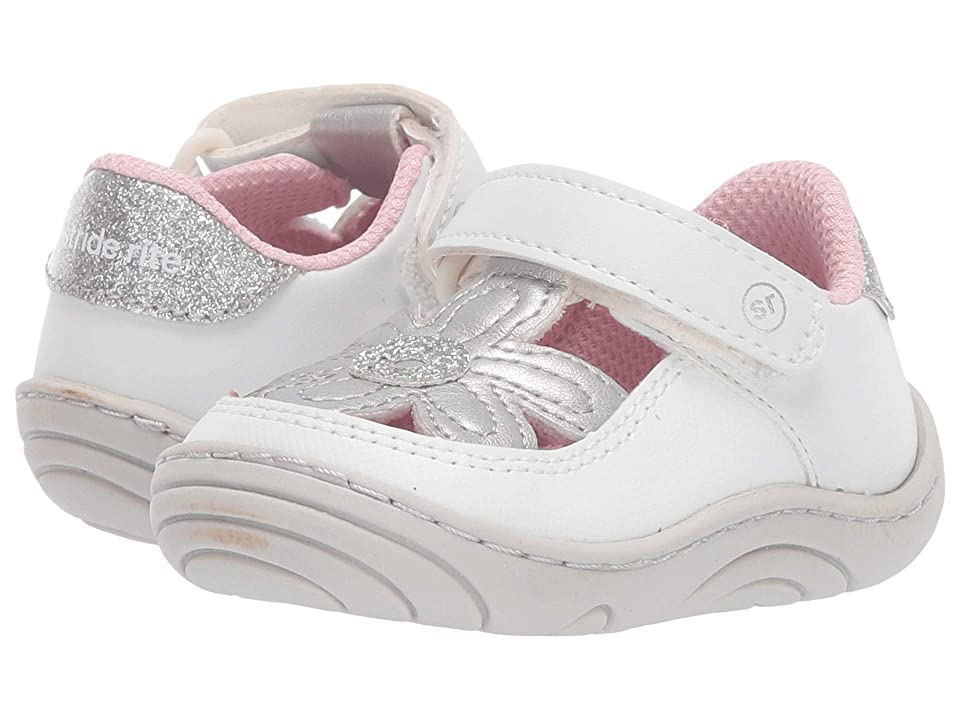 Stride Rite Daisy (Infant/Toddler) (White) Girl