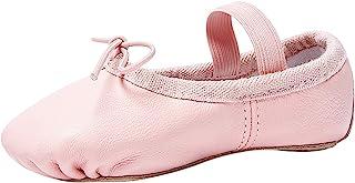STELLE Premium Leather Ballet Slipper/Ballet Shoes(Toddler/Little Kid/Big Kid)