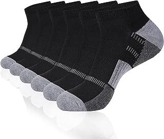 Sponsored Ad - COOVAN Mens Ankle Socks Men Athletic Cushion Low Cut Comfort 6 Pairs Socks