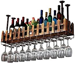 Stapelbaar Modulair Wijnrek Opslag Stand Houten Wijnhouder Display Planken - Opknoping Wijnrek, Keuken Bar Decoratie Opber...