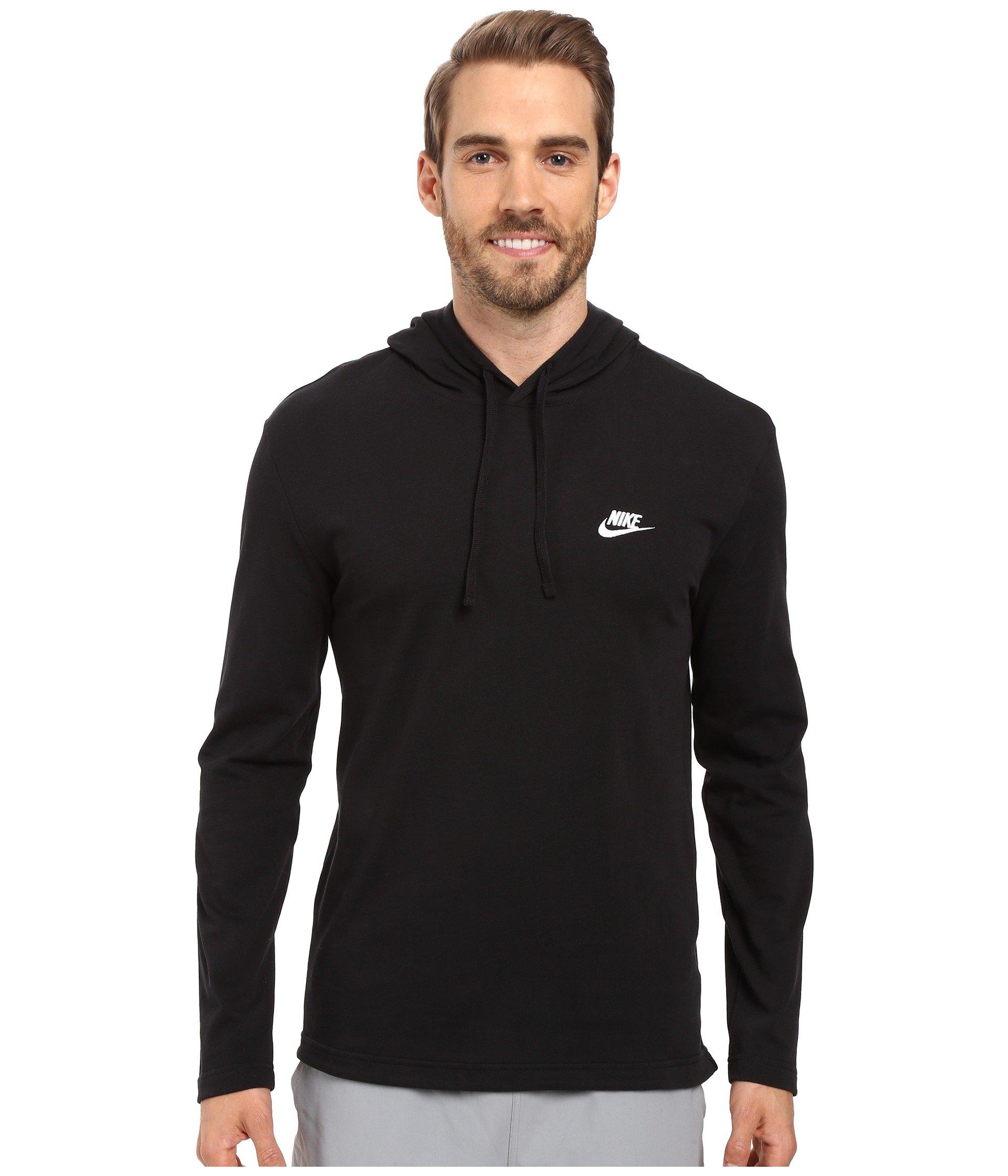23692c794b Black White. 223. Nike. Club Jersey Pullover Hoodie