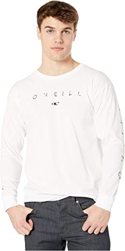 Spaced Out Long Sleeve Screen Tee