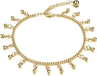 2016 Fashion Trend Popular Golden Anklets Charm for Summer Never Fade Extanded