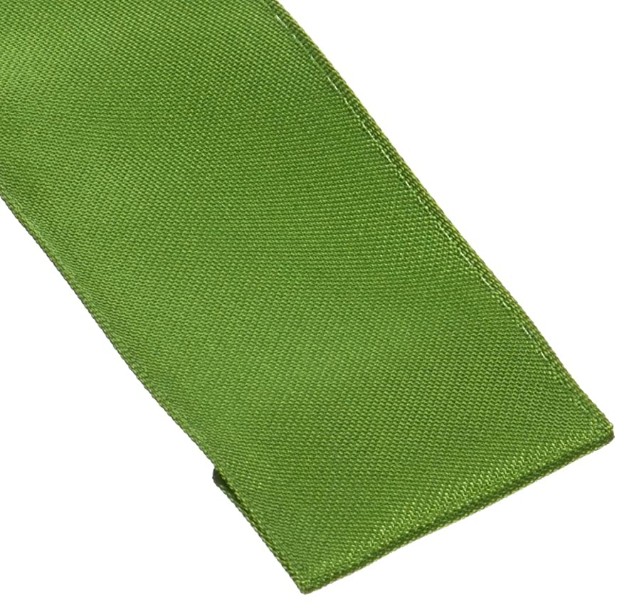 Entertaining with Caspari Solid Wired Ribbon, Green