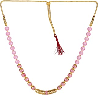 Sansar India Beads Necklace Earrings Jewellery Set for Girls and Women 1578A