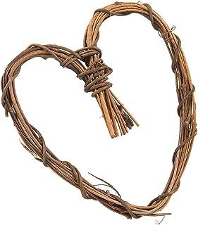 Darice Bulk Buy DIY Grapevine Heart Natural 6 inches (12-Pack) 2802-08