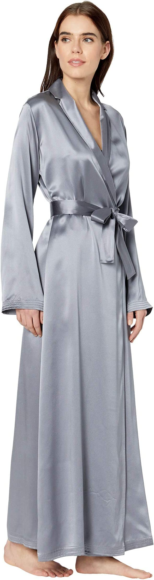 La Perla Silk Long Robe   The Style Room, powered by Zappos